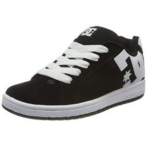 DC Shoes Graffik, Zapato de Skate Niños, Black/White, 28 EU