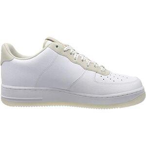 Nike Air Force 1 '07 LV8 3, Zapatillas de Baloncesto. para Hombre, Blanco Total Naranja Cumbre Blanco Negro, 41 EU