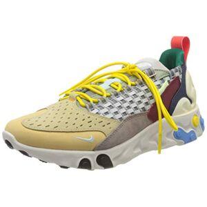 Nike React Sertu, Zapatillas para Correr para Hombre, Wolf Grey/Teal Tint/Pumice, 44.5 EU