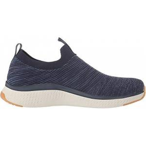 Skechers Solar Fuse, Zapatillas sin Cordones para Hombre, Azul (Navy Mesh/Synthetic/Trim Nvy), 41 EU