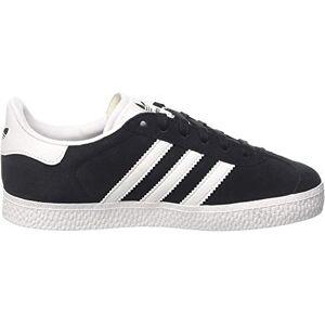 Adidas Gazelle, Zapatillas Unisex Niños, Negro (Core Black/Ftwr White/Gold Metallic), 32 EU