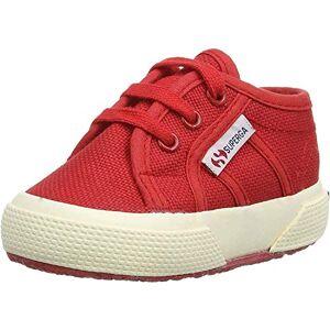 Superga 2750-bebj Baby Classic, Zapatillas Unisex niños, Rojo, 24 EU