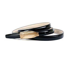 Crown Anthoni Crown 4it15.00l Cinturón, Dorado (Gold 016), 115 (Talla del fabricante: 100) para Mujer