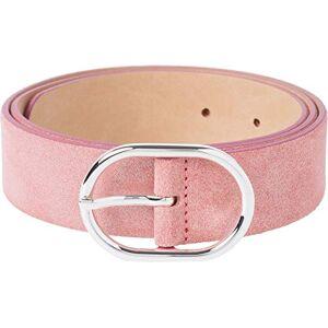 BRAX Glitzer Veloursleder Cinturón, Rosa (Rosa 46), 105 (Talla del fabricante: 90) para Mujer
