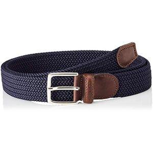 Gant Elastic Braid Belt Cinturón, Azul (Marine 410), 120 (Talla del fabricante: 105) para Hombre