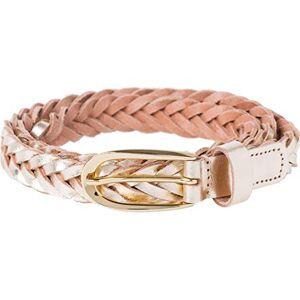 BRAX Flechtgrtel Casual Schmal Cinturón, Dorado (Gold 90), 120 (Talla del fabricante: 105) para Mujer