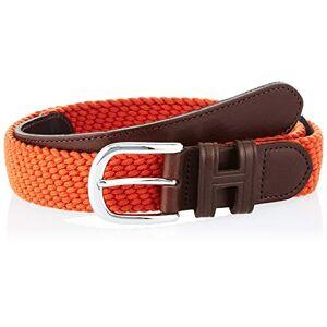 Hackett London Parachute Belt Cinturón, Naranja (165burnt Orange 165), 115 (Talla del fabricante: Medium) para Hombre