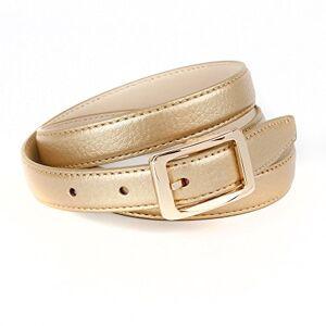 Crown Anthoni Crown A4WETG3 Cinturón, Oro (Beige-Gold 034), 80 para Mujer