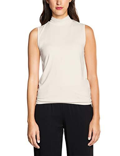 Street One 314163 Camiseta sin Mangas, Marfil (Off White 10108), 46 (Talla del Fabricante: 44) para Mujer