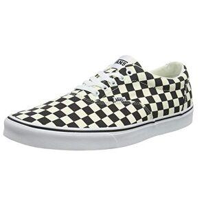 Vans Doheny, Zapatillas para Hombre, Multicolor ((Checkerboard) Black/Classic White Ib8), 42.5 EU