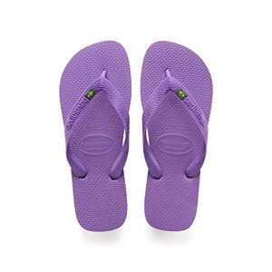 Havaianas Brasil, Chanclas Unisex Adulto, Morado (Purple), 33-34 EU