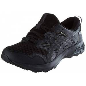 Asics Gel-Sonoma 5 G-TX, Zapatilla de Trail Running Hombre, Negro(Black/Black), 41.5 EU