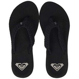 Roxy Porto, Zapatos de Playa y Piscina para Mujer, Negro Black, 38 EU