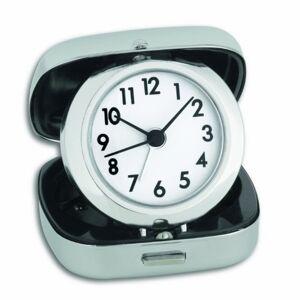 TFA Dostmann 60.1012 - Despertador de Viaje, Color Acero