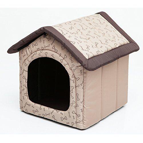 hobbydog r4 budbko17 budbko17 r4 - cama para gatos y perros (60 x 55 cm, 1,4 kg), color beige