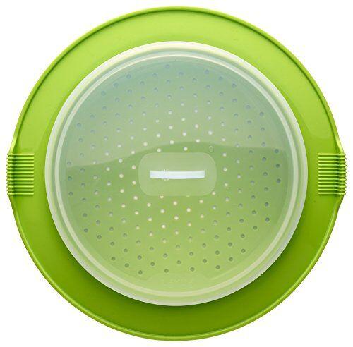 rocook vaporera, silicona, verde, 32x32x2.5 cm