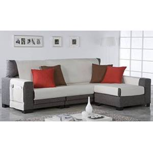 Zebra Technologies Zebra Textil 21466 - Salve sofa, color Marrón, tela