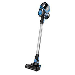 Polti Forzaspira Slim Sr100 Escoba Eléctrica Recargable Sin Cables 2 En 1, Plástico, Negro/Azul