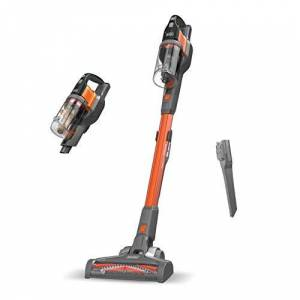 Black & Decker BHFEV182B-QW - Aspirador de escoba sin cable Power Series Extreme 18V, no incluye bateria ni cargador