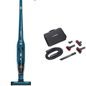 Bosch Pack Bosch BBH21830L Readyyy 2-in-1 + Kit de accesorios Home and Car - Aspirador escoba vertical sin cable y de mano, autonomía hasta 36 min, batería Ion-Litio de 18 V, color azul metalizado