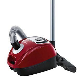 Bosch BGL4A500 GL-40 ProPerformPlus Aspirador trineo con bolsa, diseño compacto, cepillo especial para parquet, color rojo cereza
