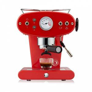 illycaff Francis Francis para Illy X1 Ground Coffee Machine, Rojo