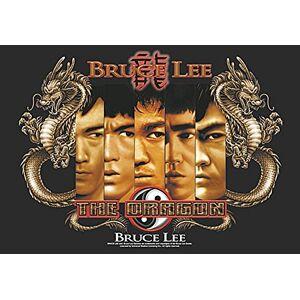 Heart Rock - Bandera Original Bruce Lee Splitting Images, Tela, Multicolor, 110 x 75 x 0,1 cm