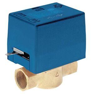 Mut modelo SF25-2 M1, 230 V, válvula de zona con retorno de muelle de 2 vías, 230 V, azul y amarillo
