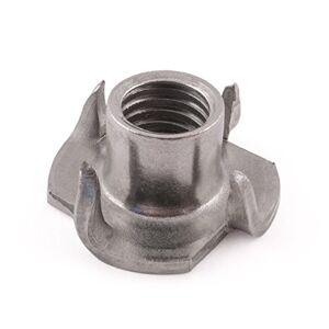 SD Products SD productos ptn0609st-104puntas de tuercas, acero inoxidable, M6x 9mm, set de 10piezas