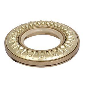 Sourcing Mapa a15051500ux0462patrón Renacuajo Vintage Estilo romana Ciegos Ventana anillos de cortinaLuz Amarillo