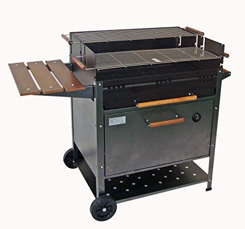 imor, barbacoa de carbón con horno - modelo etna