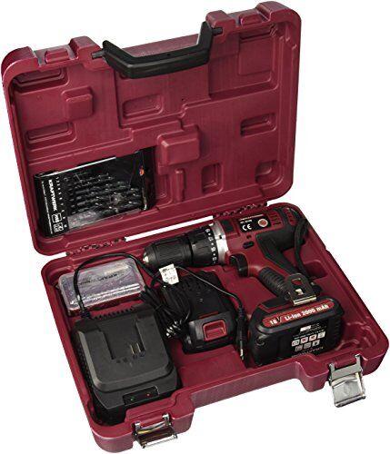 kraftwerk 32108 - atornillador/taladro a batería 18 v 2000 mah