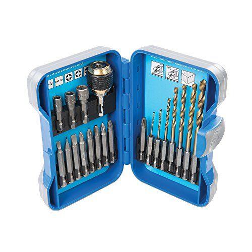 silverline tools silverline 490828 juego de accesorios para taladros y atornilladores