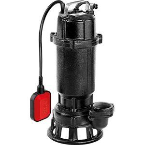YATO YT-85350 - Bomba sumergible con tocador para agua sucia, 750w