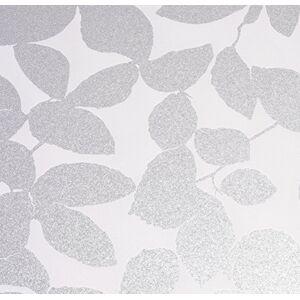 Venilia estática Vitrostaic follaje, lámina de privacidad, PVC, Transparente, 67,5cm, Grosor 0,2mm, 53017, opaco, 67,5 cm x 1,5m