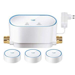 Grohe Sense Guard - Kit de controlador de agua inteligente y 3 sensores de agua, humedad y temperatura Ref. 22502LN0