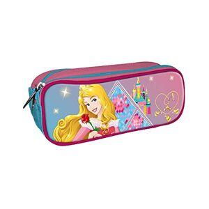 Desconocido Disney Princesas Estuche portatodo con Doble Cremallera Bolsillo
