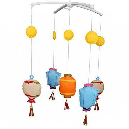 Dragon Juguetes del bebé, juguete musical móvil del pesebre del juguete de la decoración del sitio infantil para el niño, linterna