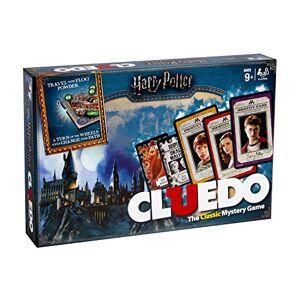 Winning Moves Harry Potter - Cluedo, juego de mesa de misterio (Idioma Inglés) , Modelos/colores Surtidos, 1 Unidad