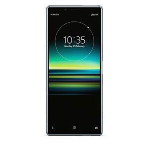 """Sony Xperia 1 - Smartphone de 6.5"""" (Pantalla OLED  4K HDR 21:9 CinemaWide, 128 GB de memoria interna, 6 GB RAM, Dual Sim, Android 9.0), color gris  [Versión importada]"""
