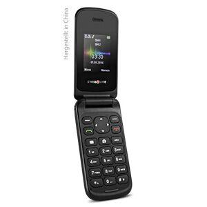 "Swisstone SC 330 1.77"" 56g Negro - Teléfono móvil (Concha, SIM Doble, 4,5 cm (1.77""), Bluetooth, 600 mAh, Negro)"