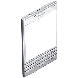 Blackberry Passport white Smartphone [Importado de Alemania] - Teclado QWERTZ alemán