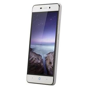 Zte Blade A452 - Smartphone Libre de 5'' (WiFi, Bluetooth, Quad-Core 1.0 GHz, 8 GB de Memoria Interna, 1 GB de RAM, cámara de 13 MP, Android 5.1 Lollipop) Blanco