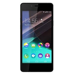 "Wiko Highway pure - Terminal libre de 4.8"" (LTE, WiFi, Bluetooth, Snapdragon 410 MSM8916 Quad Core 1.2 GHz, Cortex-A53, 2 GB de RAM, Android 4.4.4 KitKat) color negro y gris"