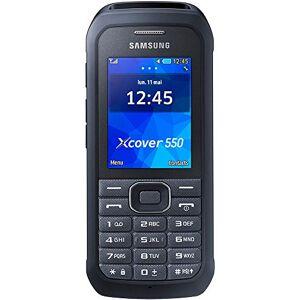 "Samsung Xcover 550 2.4"" 120.4g Negro, Plata - Teléfono móvil (6,1 cm (2.4""), 240 x 320 Pixeles, TFT, MicroSD (TransFlash), 128 MB, 16 GB) (importado)"