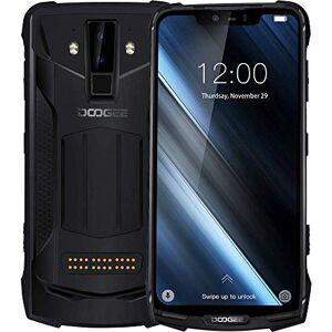 Doogee S90 - IP68/IP69K Impermeable Móvil Libre 4G Dual SIM (batería de 10050 mAh),Helio P60 Ocho Núcleos 6GB+128GB, Android 8.1, Pantalla de 6,18 FHD+, Cámara Inteligente de 16MP + 8MP - Negro