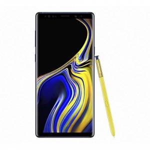 """Samsung Galaxy Note9 - Smartphone Libre de 6.4"""" (Android, 6 GB de RAM, cámara Trasera 12 MP, Frontal 8 MP, 128 GB), Azul [Versión Francesa: podría presentar Problemas de compatibilidad]"""