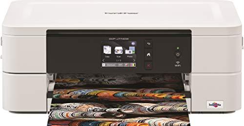 brother mfc-j491dw impresora multifunción de inyección de encre  couleur  recto-verso  pantalla lcd 4,5cm  bandeja papel photo wi-fi/wi-fi direct  impression, escáner, copiadora, y télécopie chargeur de documentos