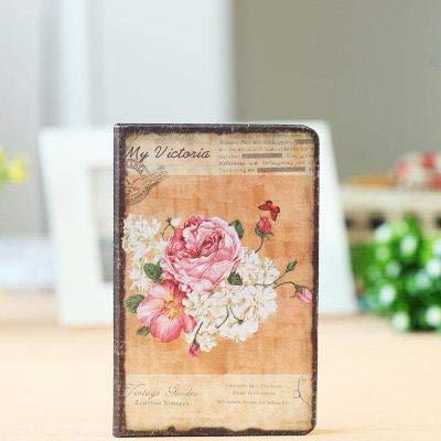 qiuling diario cuaderno retro cubierta de tela cuaderno personal diario personal cuaderno vintage papelería tiles escolares