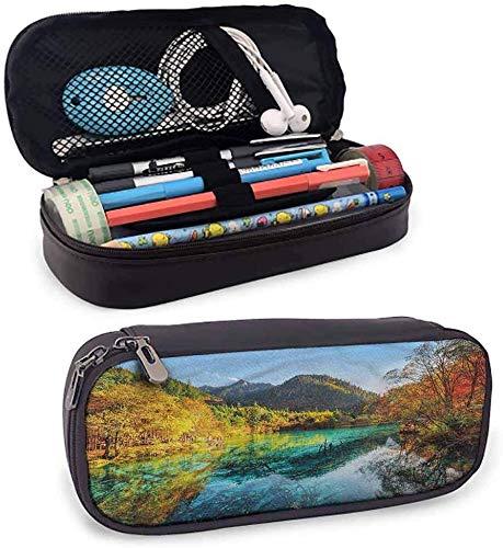 vicky estuche de reloj para lápices, diseño vintage, con cremallera, para uso diario, color color04 3.5x1.5x8